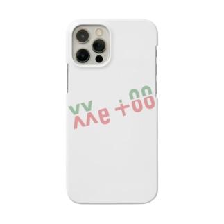 よく見ると Me too(パステル) Smartphone cases