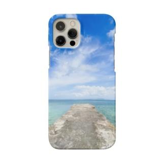 竹富島の西桟橋 Smartphone cases