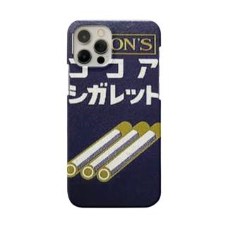 こどものたばこ ココアシガレット Smartphone cases