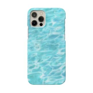 キラキラ水面・ビーチ柄シリーズ Smartphone cases