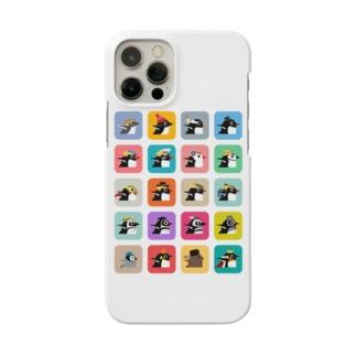 ペンギン集合 Smartphone cases