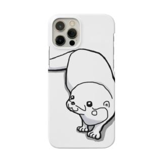 羊毛フェルトのMOFFU.(もっふ)のカワウソbyMOFFU. Smartphone cases