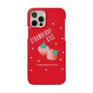 STRAWBERRY KISS スマホケース Smartphone cases