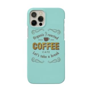 コーヒー カフェ Smartphone cases