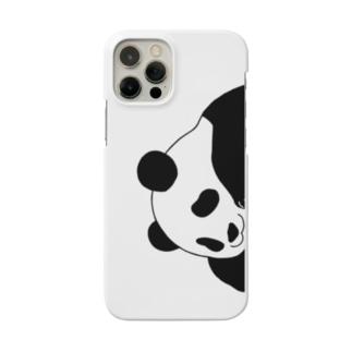 ひょっこりパンダのスマホケース Smartphone Case
