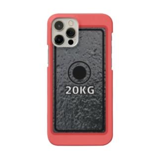 ダンベル(iPhone case) Smartphone cases