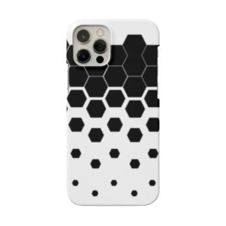 砕ける六角。 Smartphone cases