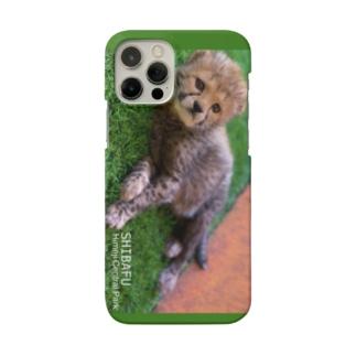 芝生しばふちゃんスマホケース Smartphone cases