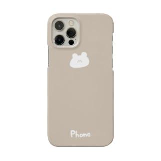 くまさん Smartphone cases