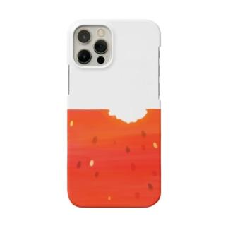 誰かが食べかけのスイカ Smartphone Case