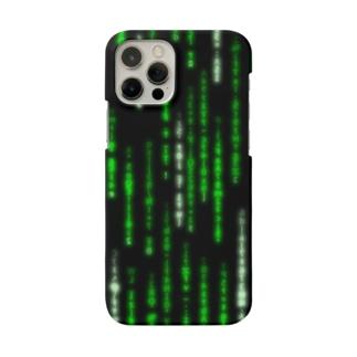 Digital Rain phone case Green ver.1.1.0 Smartphone cases