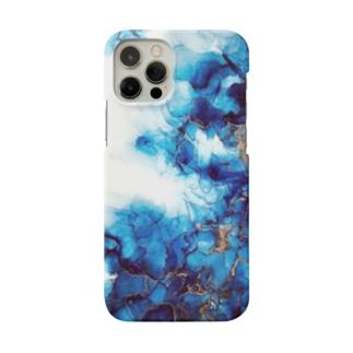 *゜⚪︎。碧の波紋⚪︎◯゜ Smartphone cases