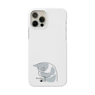 ネコ 白黒 Smartphone cases