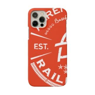 Railroads エンブレムロゴ 赤_グランジ Smartphone Case