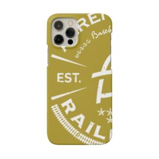 Railroads エンブレムロゴ 黄色_グランジ Smartphone Case