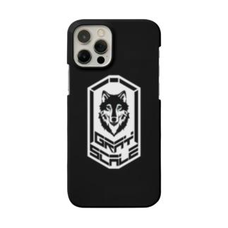 GRAY SCALE エンブレム Smartphone Case