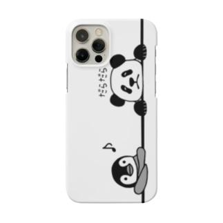 ペンギンとパンダののんびりスマホカバー Smartphone Case