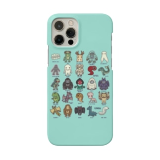 2.5等身UMA図鑑 スマホケース (ミント) Smartphone Case