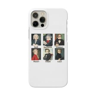 ドット 音楽室の肖像画 Smartphone cases