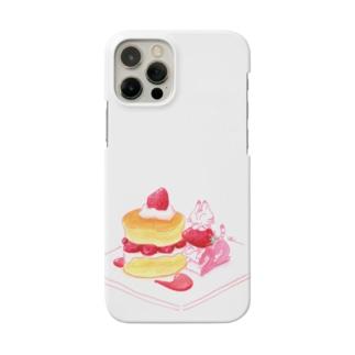 にゃんこ&食《ショートケーキの日》 Smartphone Case