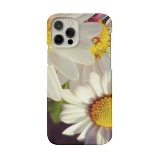 白い花、 Smartphone Case