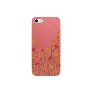薄暮の花 Smartphone cases