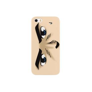 シリアス顔 Smartphone cases