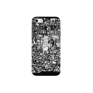 あけたらしろめ「STARS」 Smartphone cases