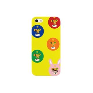 ポアレスラー大集合!! Smartphone cases