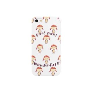 クロワッサン系女子パン(パターン) Smartphone cases
