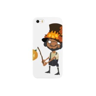 アフロのハロウィン Smartphone cases