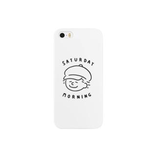 saturday morning ロゴ Smartphone cases