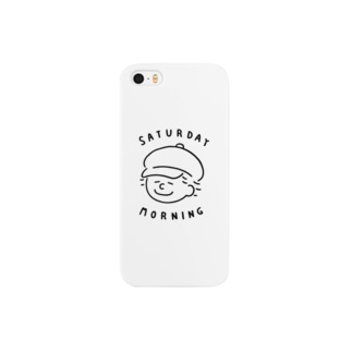 saturday morning ロゴ Smartphone cases