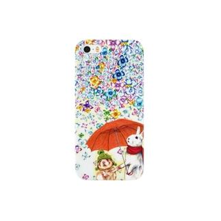 雨紫陽花 スマートフォンケース