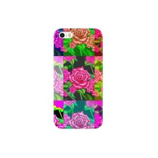 薔薇オリジナル スマートフォンケース