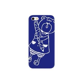 くまの携帯ケース Smartphone cases