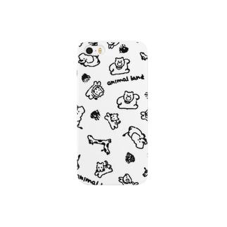 アニマルず Smartphone cases