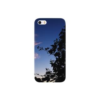 10/06 黒い植物 HOMETOWN Smartphone cases