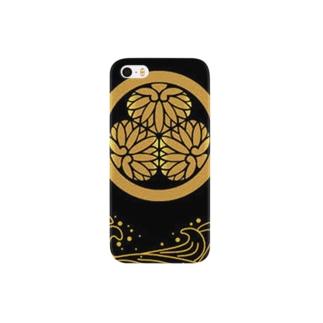 葵の紋どころ Smartphone cases