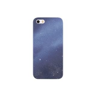 冬の夜空 Smartphone cases