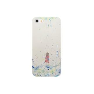 青の菌糸 Smartphone cases