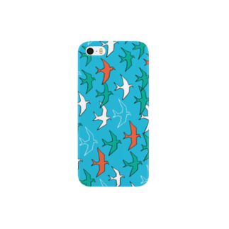 magoのとりiPhoneケース01 Smartphone cases