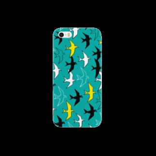 magoのとりiPhoneケース03 Smartphone cases