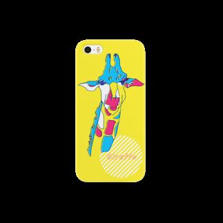 magoのキリンiPhoneケース01 Smartphone cases