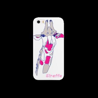 magoのきりんiPhoneケース Smartphone cases