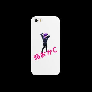 sanpunkan-projectの頭おかCアイフォンケース Smartphone cases