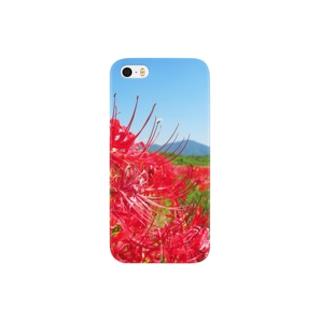 田舎と彼岸花 Smartphone cases