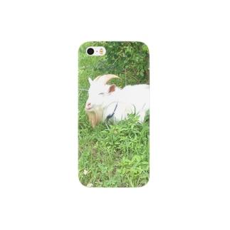 ある日の午後の白ヤギさん Smartphone cases