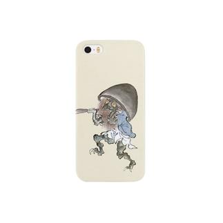 百鬼夜行絵巻 磬子の付喪神【絵巻物・妖怪・かわいい】 Smartphone cases