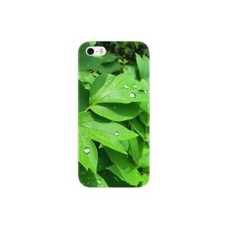 雨上がりの庭にて Smartphone cases